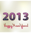 Happy new year 2013 colorful design EPS8 vector image