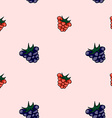 Set of sweet patterns Seamless backgrounds with vector image