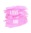 abstract watercolor pink background vector image