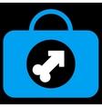 Male Erection Case Icon vector image