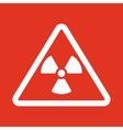 The radiation icon Radiation symbol Flat vector image