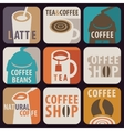 icon for hot drinks vector image vector image