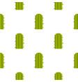 green plant of desert pattern seamless vector image