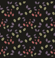 seamless abstract pattern stylized elements on vector image