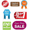 tag shopping vector image