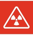 The radiation icon Radiation symbol Flat vector image