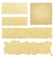 ripped pieces of paper vector image