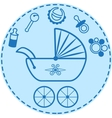 Baby things collection vector image