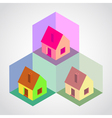 House Pattern vector image