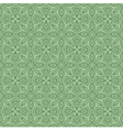 seamless ornamental flower pattern vector image