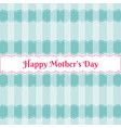 happy mothers day over cute pattern vector image