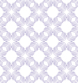 Seamless geometric square pattern vector image