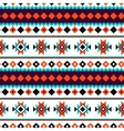Seamless north pattern Colorful tribal vector image