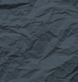 Dark Texture of Crumpled Paper vector image