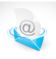 email and envelope vector image vector image