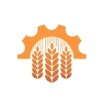 Industry and agriculture symbol vector image
