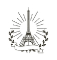 iconic monuments of the world vector image