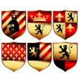 medieval set vector image vector image