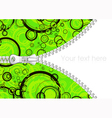Abstract background with zipper vector image