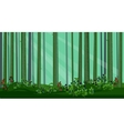 Abstract Pine Forest vector image