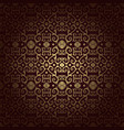 arabesque vintage seamless background vector image