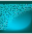 Abstract Blue Emerald Dots Background vector image vector image