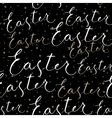 Happy Easter calligraphy write with brush pen vector image