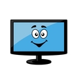 Television screen or computer monitor vector image vector image