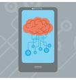 Mobile Brain vector image