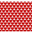 valentine hearts seamless wallpaper vector image