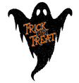 Ghost Trick or Treat vector image