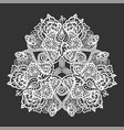 lace tribal mandala vector image