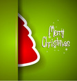 Elegant Classic Christmas flyer with A lot of vector image vector image