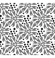 seamless pattern of dandelion vector image vector image