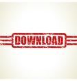 download stamp vector image