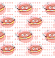 cream biscuits vector image vector image