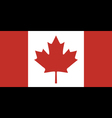 Flag Of Canada vector image