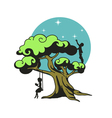 The dream tree vector image vector image