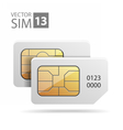 SimCard07 vector image