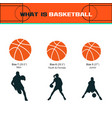 what is basketball vector image vector image