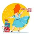 discounts Sale vector image vector image