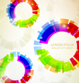rainbow abstracts vector image