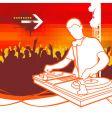 party dj vector image