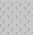 Seamless Grey Key Pattern vector image vector image