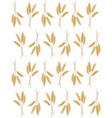 Seamless background with wheat ears vector image vector image