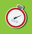 chronometer icons design vector image