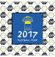 Football 2017 vector image