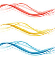 soft bright colorful web border layout set of vector image