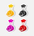 realistic design element cook vector image