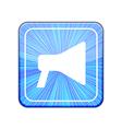 version loudspeaker icon Eps 10 vector image vector image